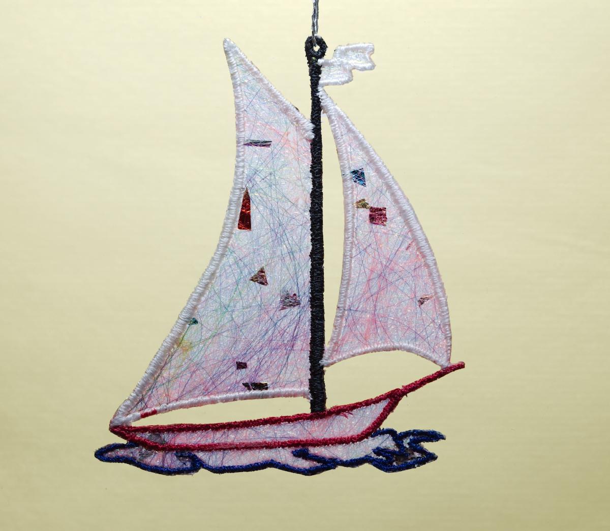 Sail Boat Shimmer